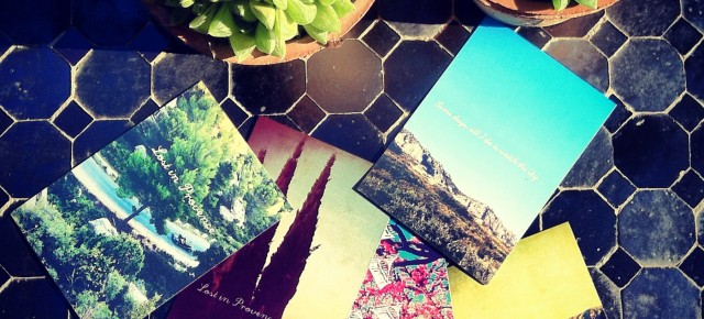 Les cartes Postales Marrel sont arrivées !