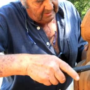 Août 2012 - Oeuvre permanente de Roland De Leu dans le jardin de Marrel