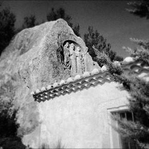 Chapelle des Tremaie aux baux de provence marrel