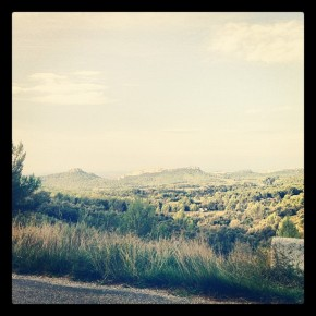 Petite route des baux Marrel Saint remy de provence