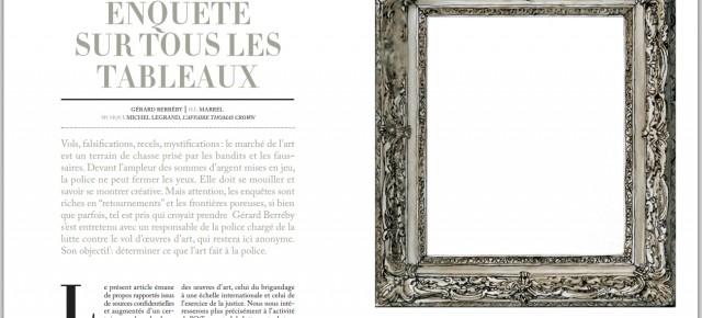 Feuilleton 07 / Enquête sur tous les tableaux / Gérard Berréby
